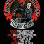 ROSE TATTOO / HARD-ONS – 'STILL NEVER TOO LOUD' TOUR 2019