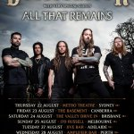 DEVILDRIVER Return To Australia In August with very special guests All That Remains