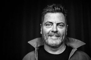 NICK OFFERMAN: An evening of deliberative talking and light dance…