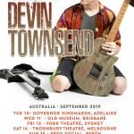 Devin Townsend Announces An Evening With Australian Acoustic Solo Tour
