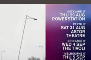 RIDE Announces 2019 Australian and New Zealand Tour