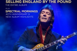 STEVE HACKETT – GENESIS REVISITED 2020 SELLING ENGLAND BY THE POUND AUSTRALIAN TOUR