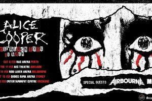 "ALICE COOPER BRINGING ALL-NEW ""OL' BLACK EYES IS BACK"" SHOW TO AUSTRALIA FEBRUARY 2020"