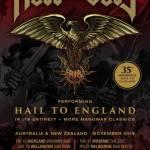 ROSS THE BOSS – 35th anniversary of MANOWAR'S 'HAIL TO ENGLAND' album played around Australia in its entirety