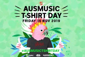 Support Act announces fundraising campaign in support of Ausmusic T-Shirt Day 2019!