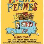 VIOLENT FEMMES AUSTRALIA 2020