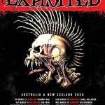 THE EXPLOITED 40 Years Of Chaos 2020 Australian And NZ Tour