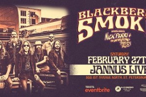 LIVE: BLACKBERRY SMOKE wsg NICK PERRI & THE UNDERGROUND THIEVES – February 27, 2021