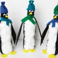 Пингвин из бутылки