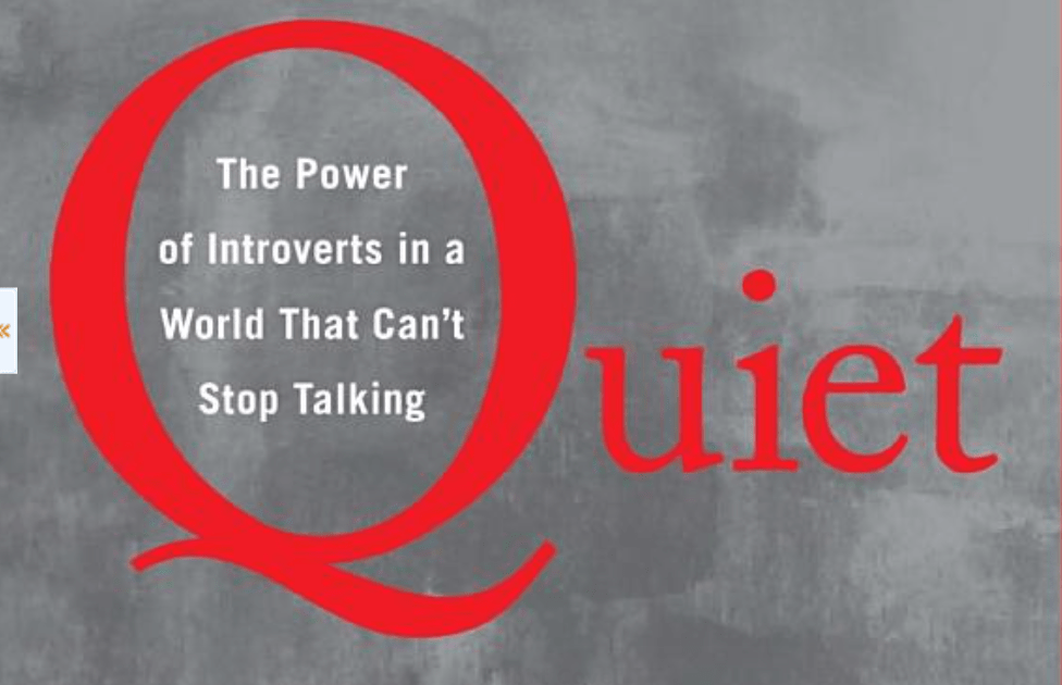 Quiet: The Power of Introverts in a World That Can't Stop Talking. Susan Cain