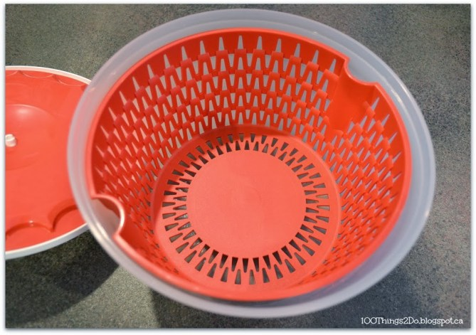 Wash your delicates in a salad spinner