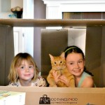 Cardboard boxes - more fun than any toy you can buy