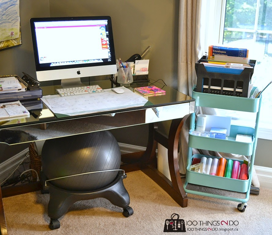 Organizing a small office space