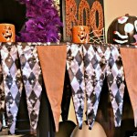 Hallowe'en Mantle Scarf
