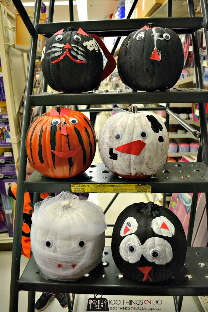 Michael's craft classes - Pumpkin decor