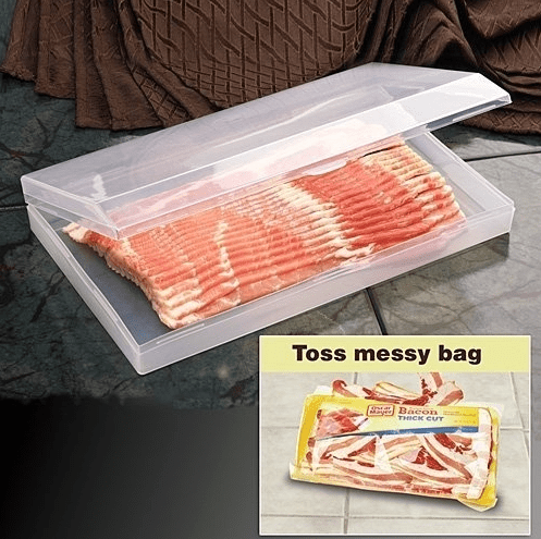 Bacon Keeper,  kitchen gadget, kitchen gadgets