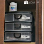 Organizing your medicine cabinet