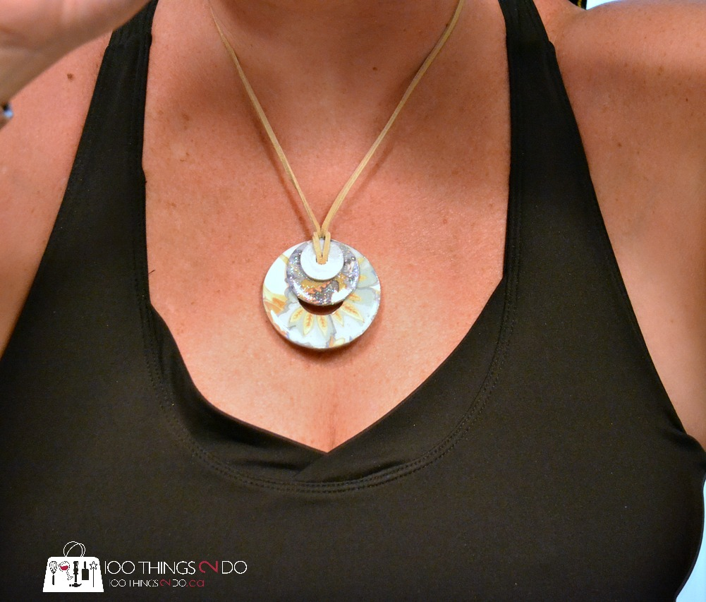 DIY jewelry, jewelry from washers, washer jewelry, How to make a washer necklace