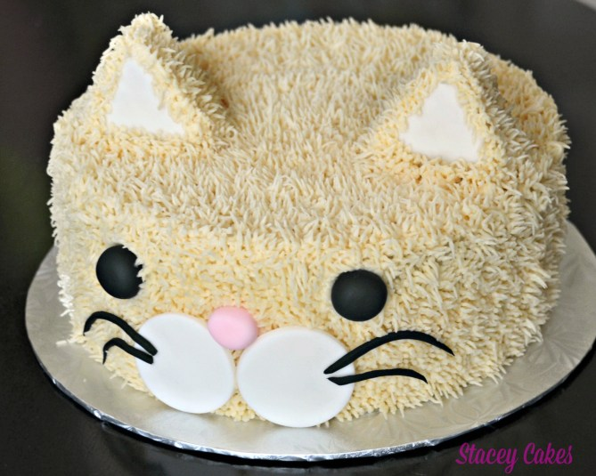 Cat cake by Stacey Cakes