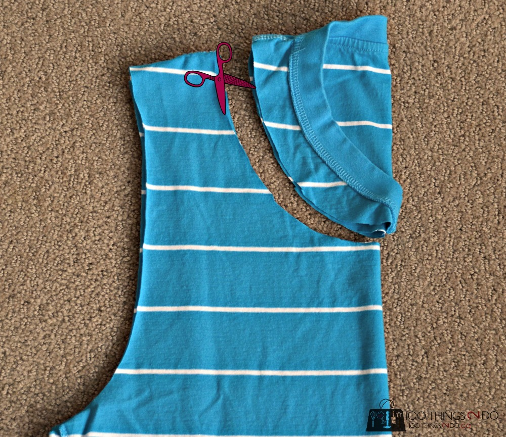 No-sew t-shirt bag, turn a t-shirt into a tote bag, t-shirt tote, t-shirt bag, upcycled t-shirt