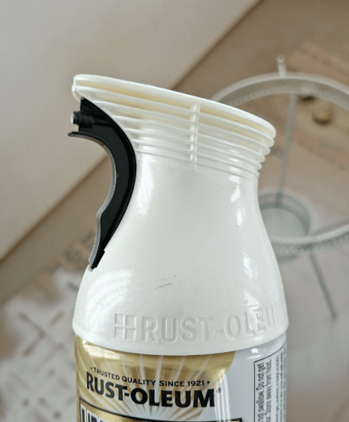 Rustoleum Metallic Pearl Mist spray paint