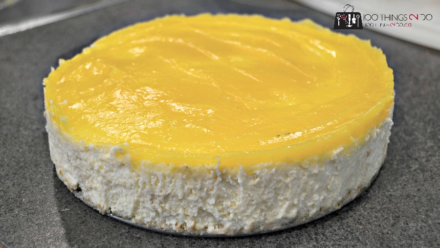 Light, Creamy, Delicious Lemon Cheesecake, easy lemon cheesecake, light and fluffy lemon cheesecake
