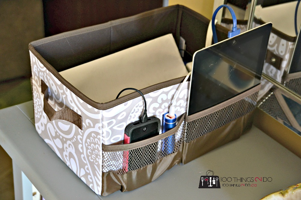 100 ways to use Thirty-One, Thirty-One gifts, Thirty-One totes, thirty-one ideas, ipad charging station