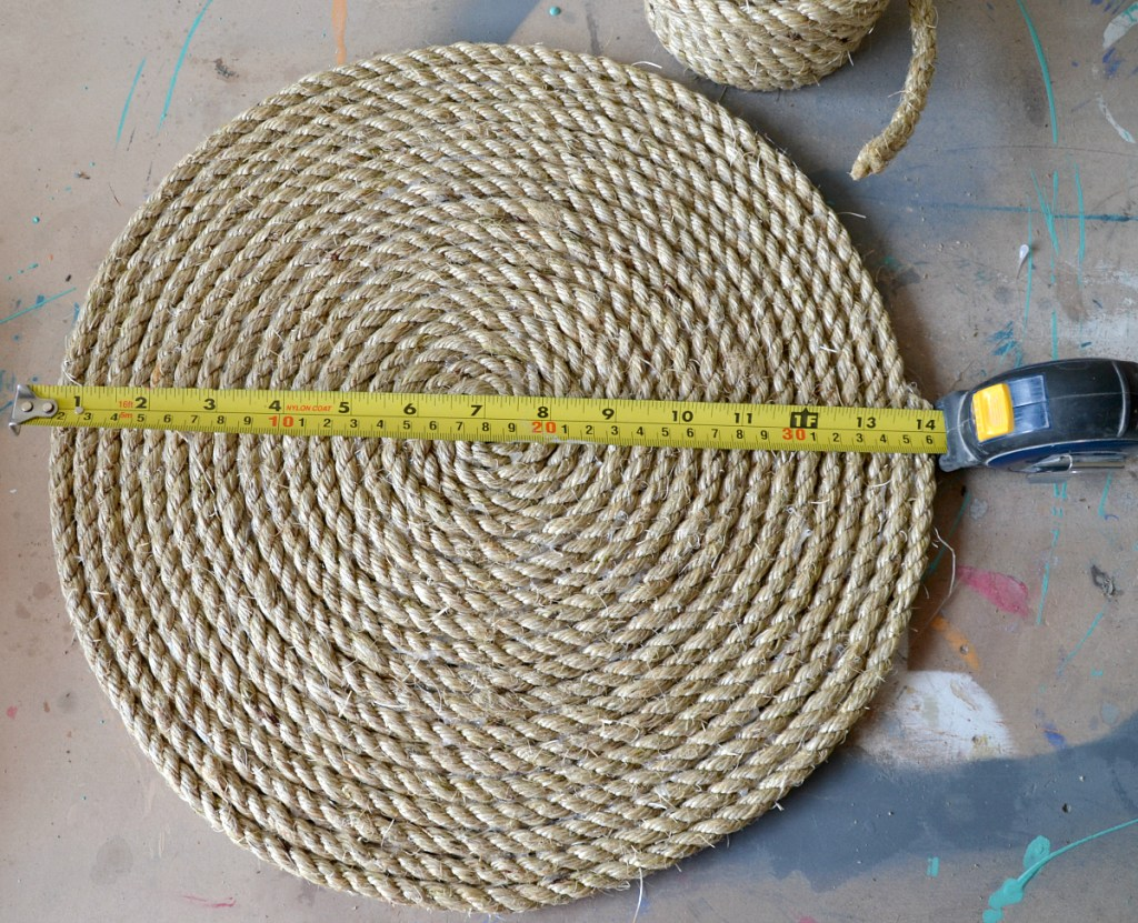 Rope placemats, rope chargers, coastal dining, coastal decor, coastal patio