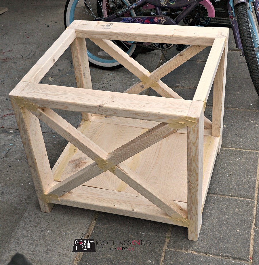 Astonishing Diy Rustic X Side Table 100 Things 2 Do Home Interior And Landscaping Dextoversignezvosmurscom