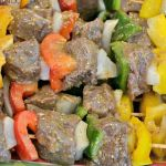 Steak Kebabs - marinated and grilled to summer perfection!