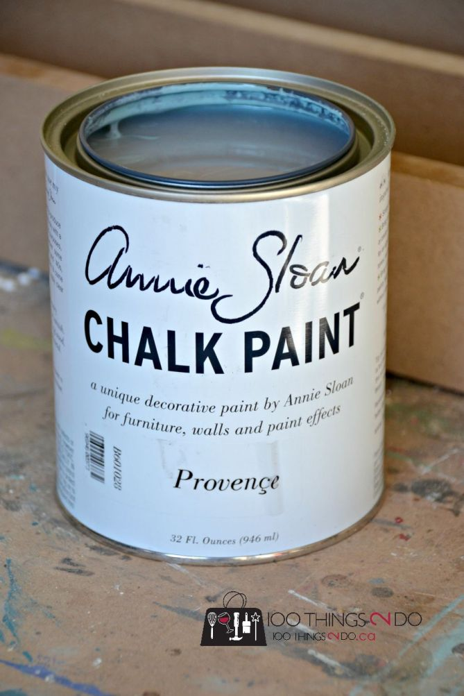 Annie Sloan chalk paint in Provence