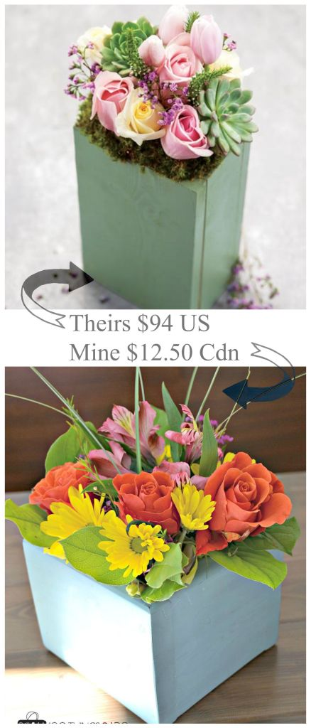 Olive and Cocoa or DIY - the price difference will kill you! Flower arrangement, DIY floral arranging, build it