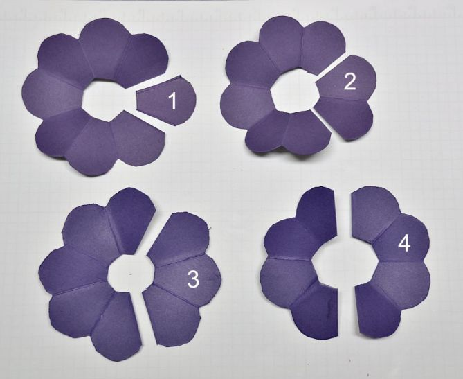 Paper flowers - 3