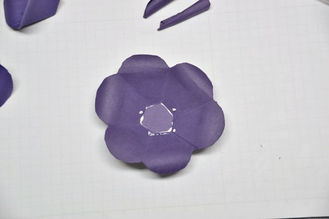 Paper flowers - 5