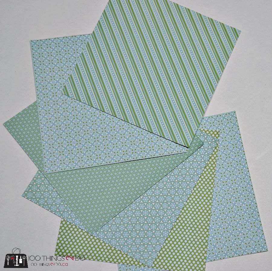 How to make an envelope scrapbook - easy paper crafting