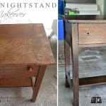 Nightstand / Bedside Table makeover