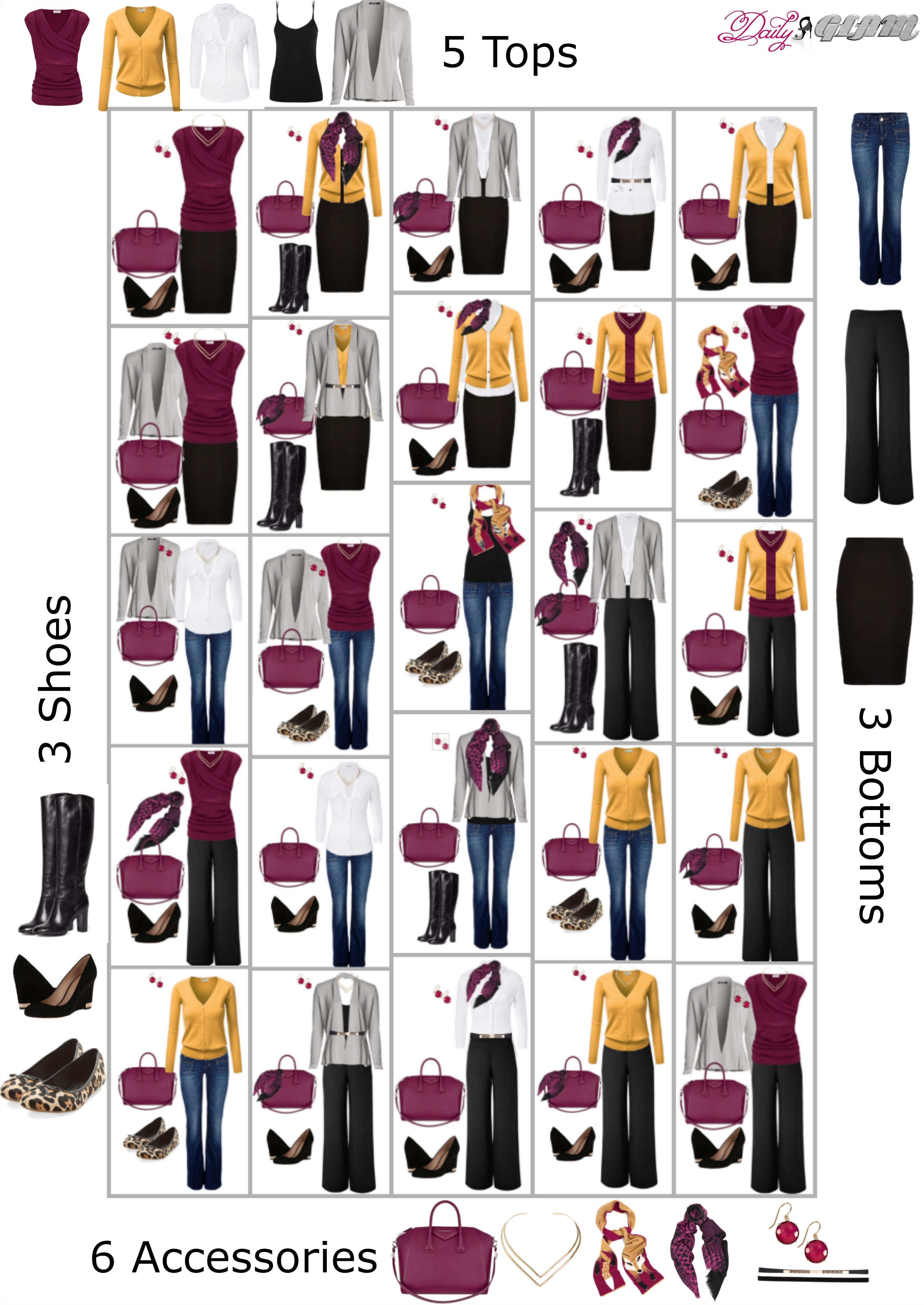 A Fall Capsule Wardrobe