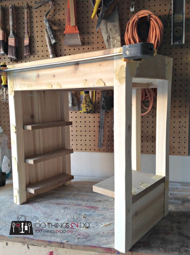 DIY - American Girl Doll Loft Bed