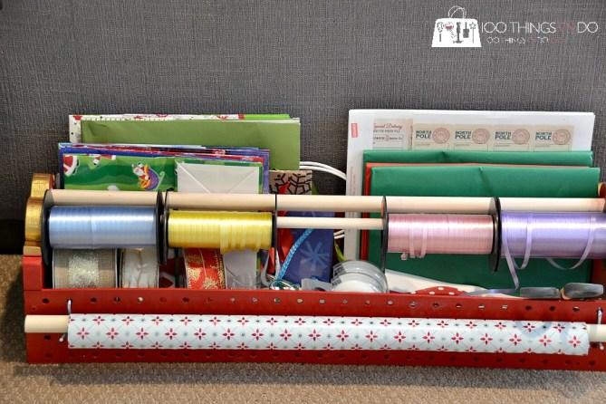 Gift wrap caddy 10