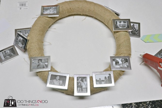 Photo wreath - 2