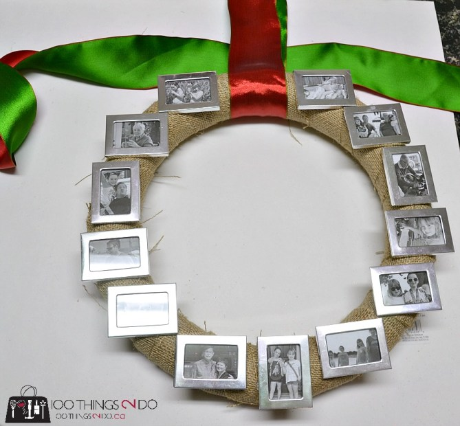 Photo wreath - 3