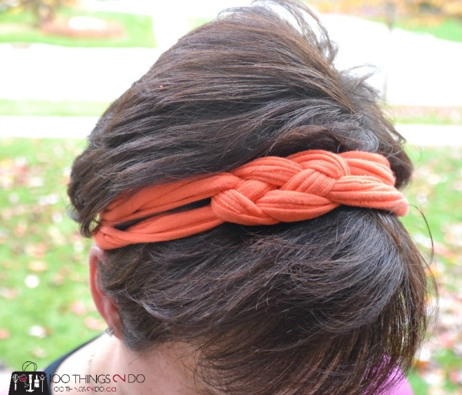 Sailor knot hairband - 15