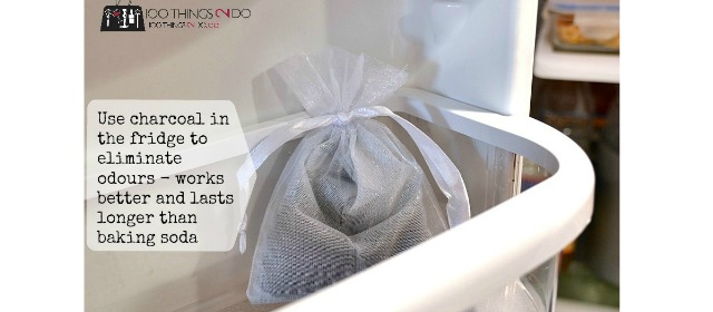 Use activated charcoal to remove odours from your home