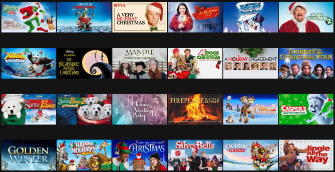 Netflix Holiday lineup - London, ON