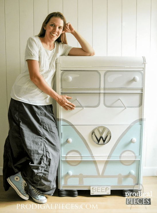 Volkswagon dresser from Prodigal Pieces
