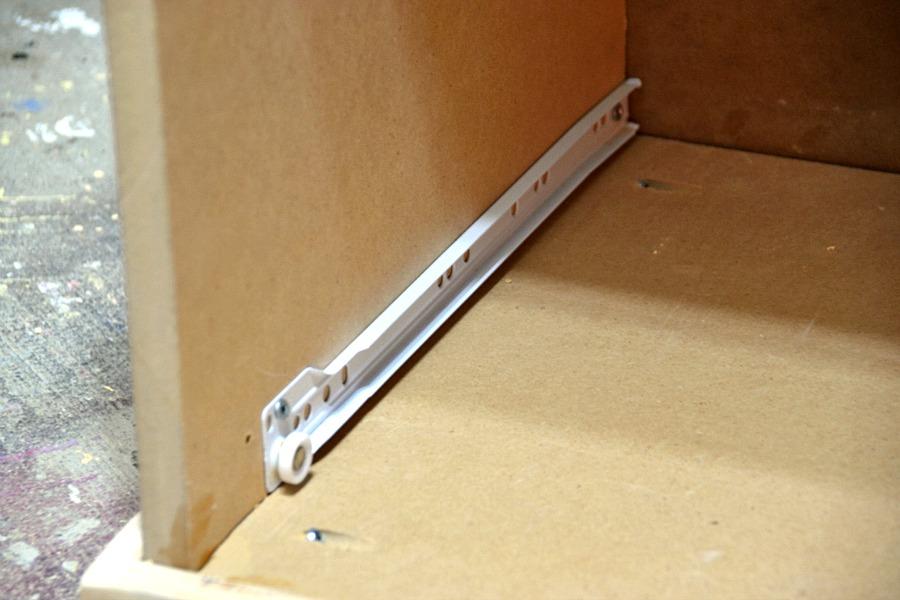 Attaching drawer glides - sliders 2 - 1