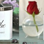 Printable candle wraps - for a high-end decor look