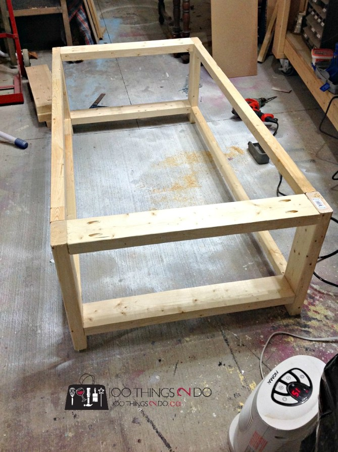 DIY Rustic X Coffee Table - Build your own coffee table in an afternoon!