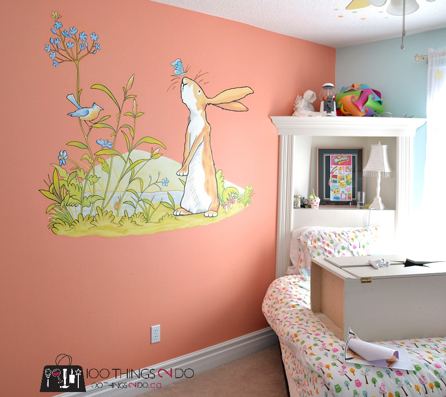 Pre-Tween Girls bedroom 1