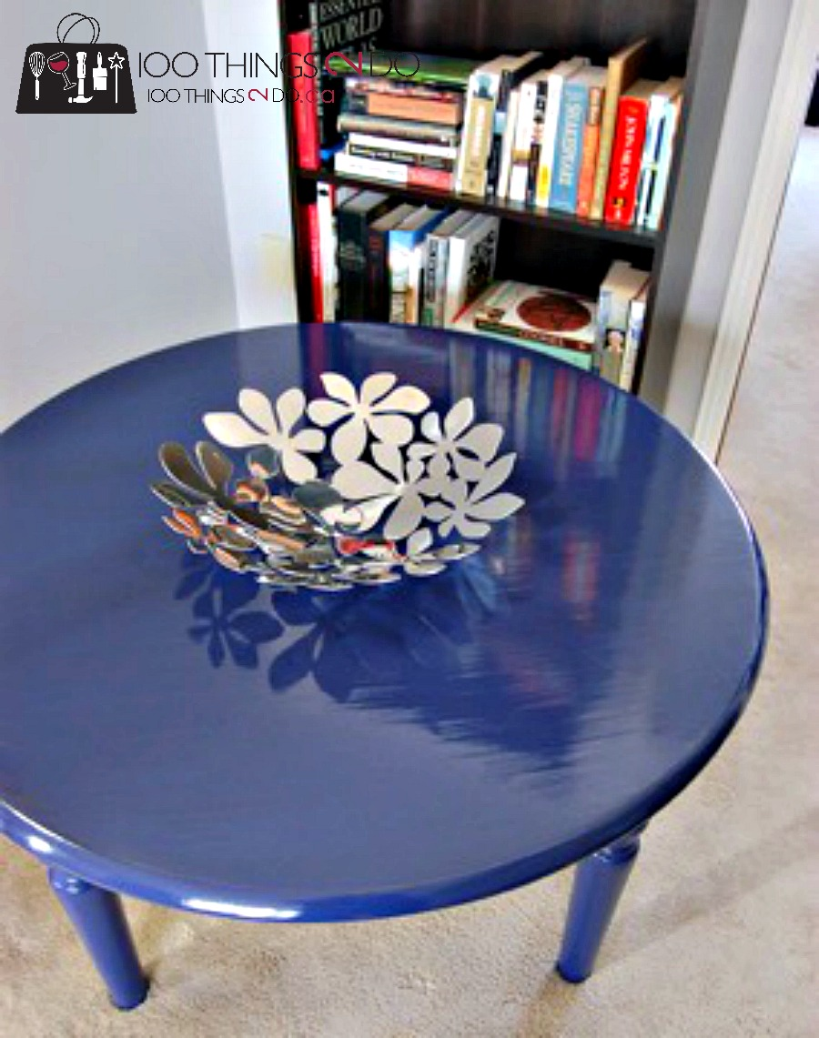 Game table makeover 7